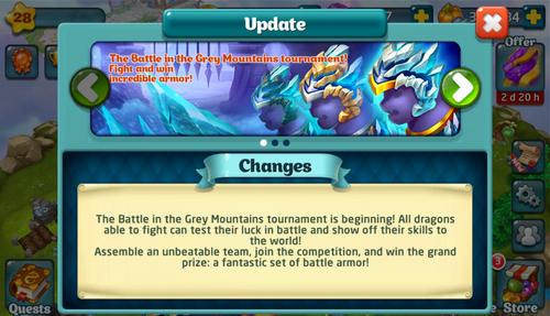 Tournament LXXII Update