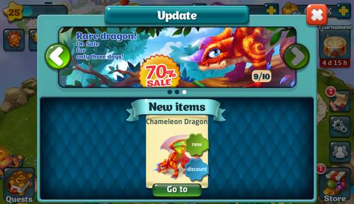 Chameleon Update
