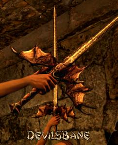 Weapon Sword Devilsbane
