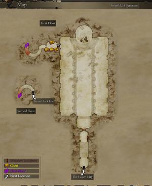 Map Bitterblack Sanctum