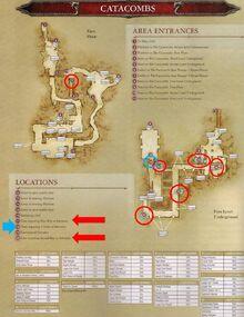 Map Leg Catacombs Top