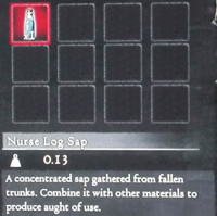 Dragon's Dogma - Nurse Log Sap (Full)