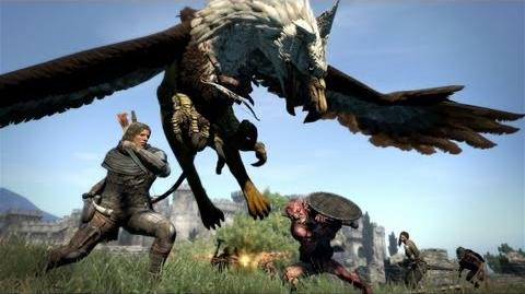 Griffin Brawl - Dragon's Dogma Gameplay