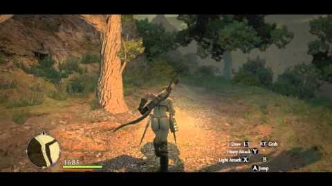 Geo Saurians lurking along the Moonsbit Pass (Post-Game)