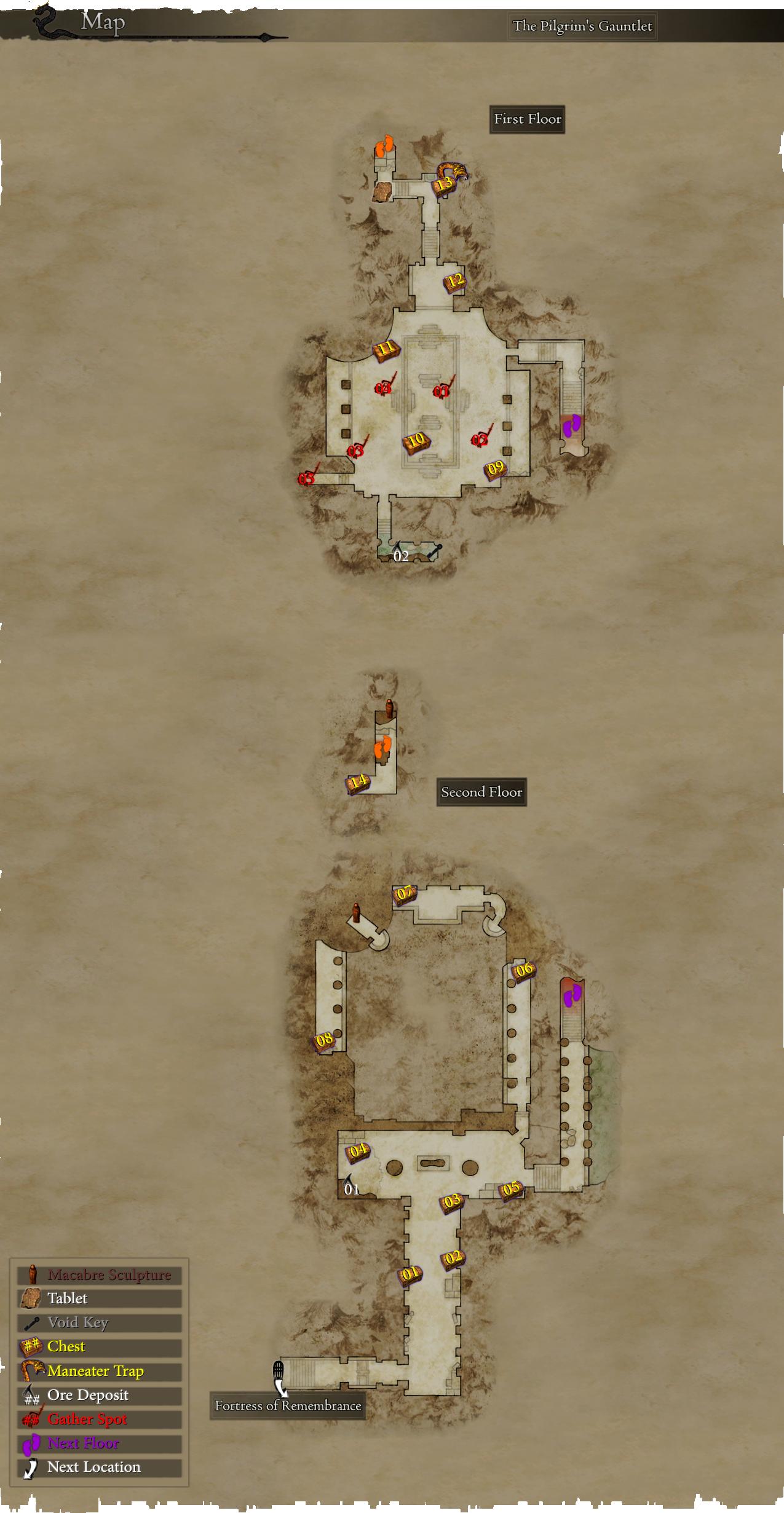 Level 3 Gear Farming Route Dragonsdogma