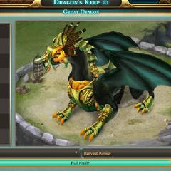 Haevest Armor on Shadow Scale