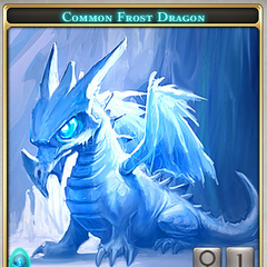 Frost dragon (male) + Great Dragon (female)