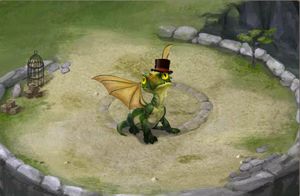 Great dragon top hat