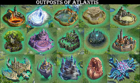 Outposts of atlantis