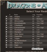 New realms