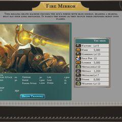 Fire Mirror