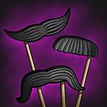 Item Stick-on Moustache