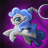 Item Sparkle Pony Keychain