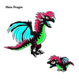 Neon Dragon.