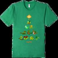 DragonValeT-Shirt-HolidayDragonTree-KellyGreen