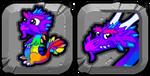 RainbowDragonButton