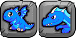 BlueFireDragonButton