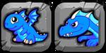 BlueFireDragonButton