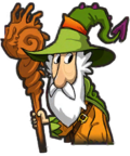 Wizard Green Hat