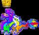 RainbowDragonAdultCrown