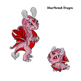 Heart Break Dragon