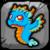TurquoiseDragonBabyButton