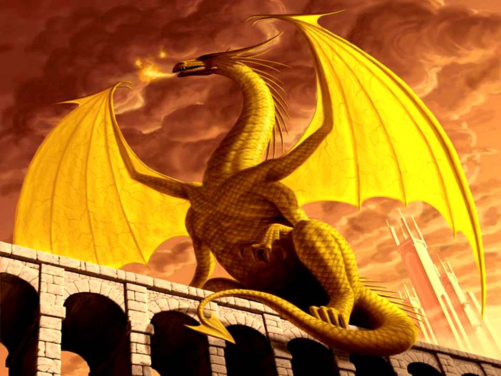 Image  Imperial Gold Dragon Wallpaper Ejk5ijpg