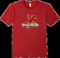 DragonValeT-Shirt-BabyFireDragon - Cranberry