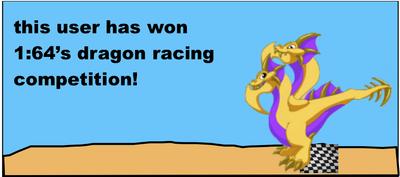 Dragonvale racing badge