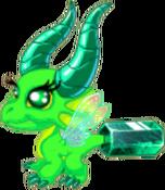 EmeraldDragonJuvenile