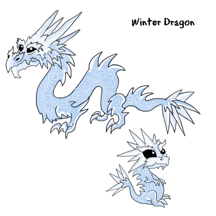 Dragon Body Shape The Body Shape of The