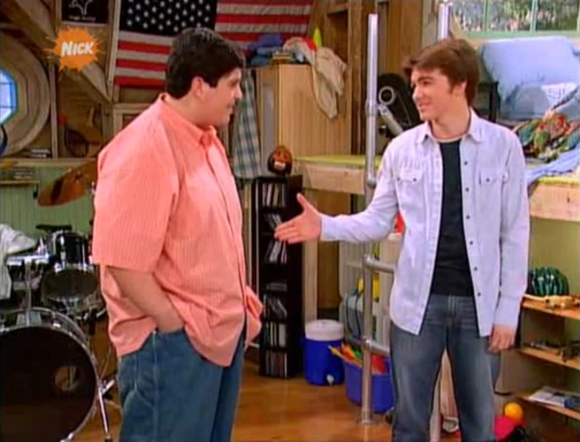 Drake and Josh Pilot. Pilot   Drake and Josh Wiki   Fandom powered by Wikia