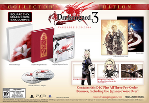 Drakengard 3 North American Release - Collector's Edition