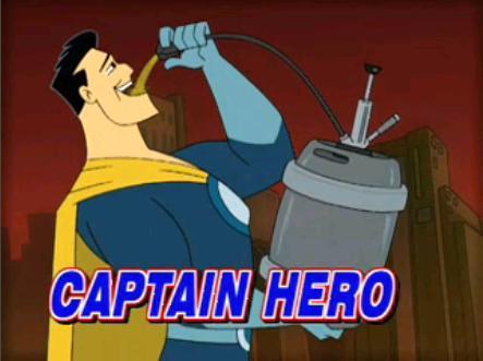 captain hero drawn together wiki fandom powered by wikia