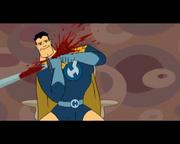 Captain Hero's confessional suicide