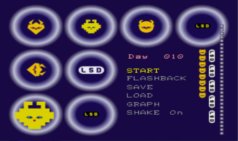 Resultado de imagem para lsd dream emulator menu