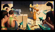 Rocky and Bullwinkle Short Concept Art 15