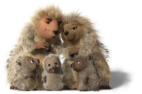The Porcupine Family