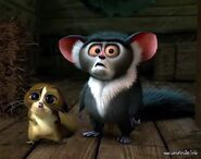 Madagascar 3 Maurice Mort