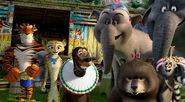 Madagascar 3 circus inspired