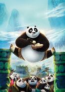 Kung Fu Panda 3 (2016) - Poster 1 Textless