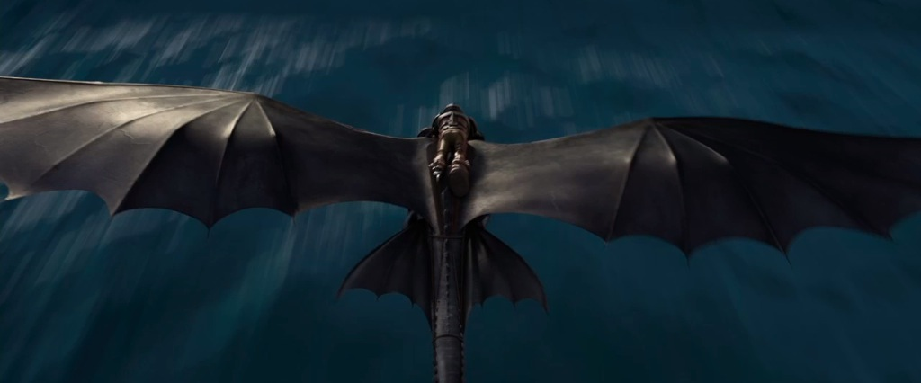 how to train your dragon scene list