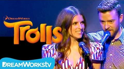 "Justin Timberlake and Anna Kendrick - ""True Colors"" Live at Cannes TROLLS"