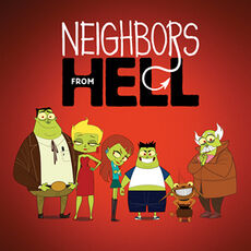 Neighbours from Hell poster