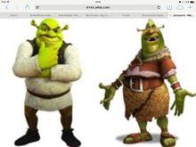 Shrek vs shrek