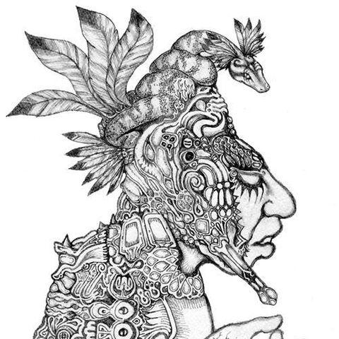 Kukulkan drawing