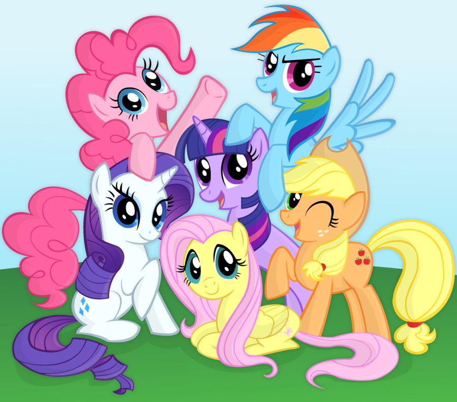 The Mane 6   My Little Pony Adventure Of Friendship Wiki ...