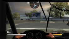 Hydramax AERV Cockpit View
