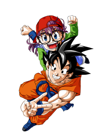 File:Goku and arale dragon ball super render by bl sama-da1ytnm.png