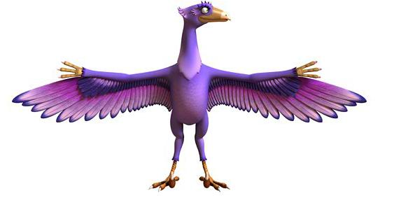 Microraptor Dinosaur Train Wiki Fandom Powered By Wikia